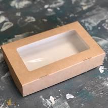 Коробка картонная с окошком, 200х120х40 мм - Упаковка