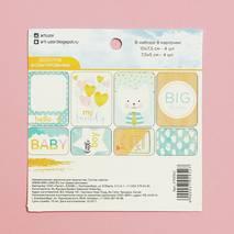 """Набор карточек для творчества """"My Family"""", 8 штук - Бумажные элементы"""
