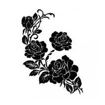 """Трафарет """"Розы"""", А4 - Трафареты"""
