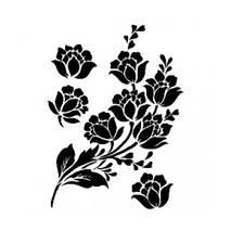 """Трафарет """"Цветы"""", А4 - Трафареты"""