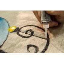 Контур по ткани, 20 мл, ТАИР - Краски по ткани