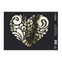 Трансферная картинка для ткани металлизированная, 21*30см, VT-015 - Трансферные картинки