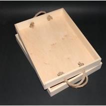 Поднос 300*400 мм c веревочными ручками - Подносы и ящики