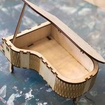 Шкатулка-рояль , 230*145*120 мм - Шкатулки