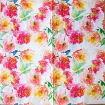 "Салфетка 33*33 см ""Цветы"" - Флора и фауна"