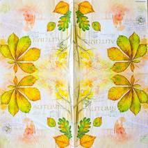 """Салфетка 33*33 см """"Осень"""" - Флора и фауна"""