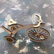 Велосипед, 180**60*130 мм - Фигурные заготовки