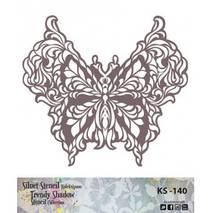 "Трафарет - маска ""Бабочка"", коллекция ""Trendy Shadow"", 25*25 см - Трафареты"