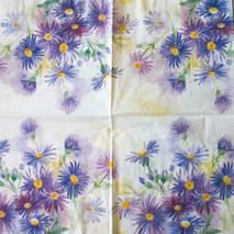 """Салфетка 33*33 см """"Акварельные цветы"""" - Флора и фауна"""