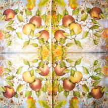 """Салфетка 33*33 см """"Яблоки"""" - Флора и фауна"""
