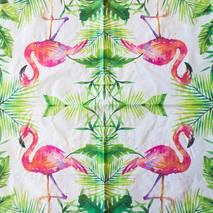 """Салфетка 33*33 см """"Фламинго"""" - Флора и фауна"""