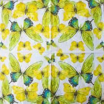 """Салфетка 33*33 см """"Бабочки"""" - Флора и фауна"""