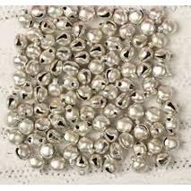 Колокольчик (Бубенчик) серебро, 0,6 см - Объемные элементы
