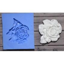 "Молд ""Роза с листиками"" - Для моделирования"