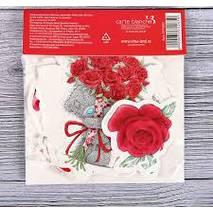 """Набор декоративных элементов (Высечки для скрапбукинга, Me To You """"Люблю тебя"""") - Бумажные элементы"""