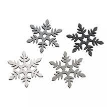 """Набор """"Снежинка деревянная цветная"""", 3,5 см - Объемные элементы"""
