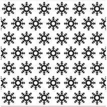 """Папка для тиснения бумаги """"Снежинки"""" - Папки/подложки для тиснения"""