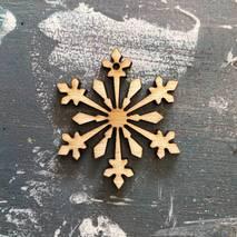 """Заготовка """"Снежинка миниатюра"""" - Фигурные заготовки"""