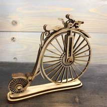 Велосипед ретро, 140**130*30 мм - Фигурные заготовки