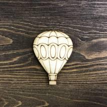 """Миниатюра """"Воздушный шар с гравировкой"""" - Фигурные заготовки"""