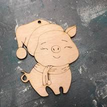 """Заготовка """"Свинка с зажмуренными глазами"""" - Фигурные заготовки"""