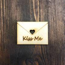 """Миниатюра """"Письмо Kiss me"""" - Фигурные заготовки"""