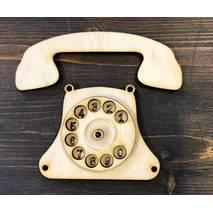 """Заготовка для Бизиборда """"Телефон"""" - Фигурные заготовки"""