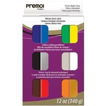 Полимерная глина Premo - Multipack, 340 г - Запекаемая полимерная глина