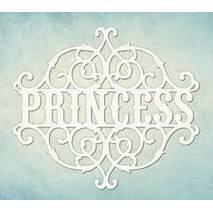 """Чипборд """"Princess"""", 9х13 см - Объемные элементы"""
