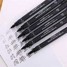 Ручки капиллярные Pigment liner, STAEDTLER - Скетчинг