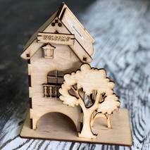"""Заготовка """"Чайный домик с деревом"""", 100х180х200 мм - Чайные домики"""