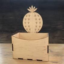Коробка с круглым кактусом - Подносы и ящики