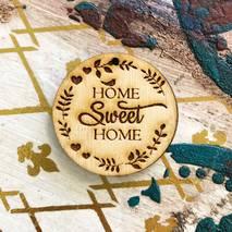 "Заготовка "" Home sweet home круг"" - Фигурные заготовки"