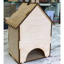 Домик декоративный, 10*13*20 см - Чайные домики