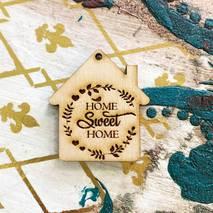 """Заготовка """"Домик Home sweet home"""" - Фигурные заготовки"""