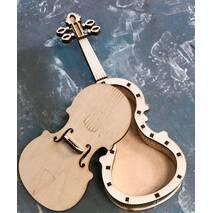 Шкатулка-скрипка - Фигурные заготовки