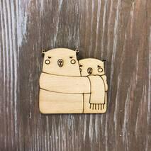 """Миниатюра """"Медведи"""" - Фигурные заготовки"""