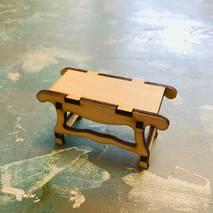 Скамья, 8*4*10 см - Фигурные заготовки