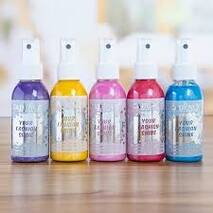 Краска-спрей Your Fashion Shine Spray Fabric Paint, 100 мл - Краски по ткани
