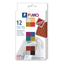 Набор полимерной глины FIMO leather-effect - Запекаемая полимерная глина