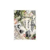 """Рисовая карта """"Paris amour"""", 21*29 см - Декупажные карты"""