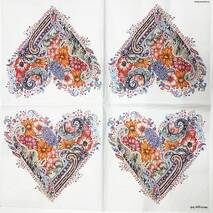 """Салфетка 33*33 см """"Цветочный орнамент"""" - Фон и текстуры"""