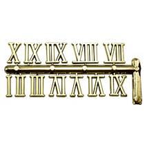 Набор цифр для часов 20 мм золото арт.TT0002 - Основы для часов