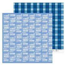 Бумага для скрапбукинга Hard men, 30.5 × 30.5 см, 180 г/м - Бумага для скрапбукинга