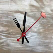 Комплект стрелок, черный (58-72-93) - Для часов (механизмы, стрелки, заготовки)