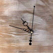 Комплект стрелок, черный (60-82-90) - Для часов (механизмы, стрелки, заготовки)
