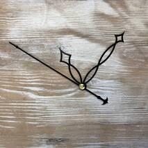 Комплект стрелок, черный (60-90-110) - Для часов (механизмы, стрелки, заготовки)