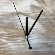 Комплект стрелок, черный (63-92-108) - Для часов (механизмы, стрелки, заготовки)