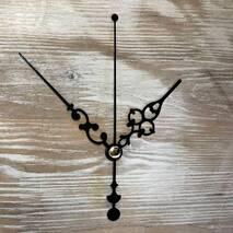 Комплект стрелок, черный (68-88-90) - Для часов (механизмы, стрелки, заготовки)