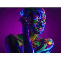 Краска для боди-арта, светящаяся в темноте, 8*20 мл - Краски по ткани